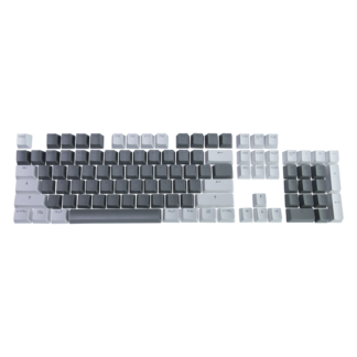 Set of PBT keycaps Monochrome Edition (HTS-130)