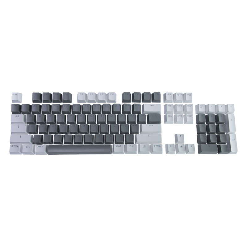 Hator Set of PBT keycaps Monochrome Edition  (HTS-130)