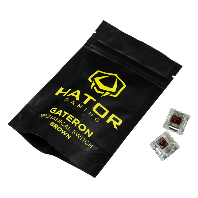 Hator Set of Mechanical Switches Gateron Brown (HTS-119)