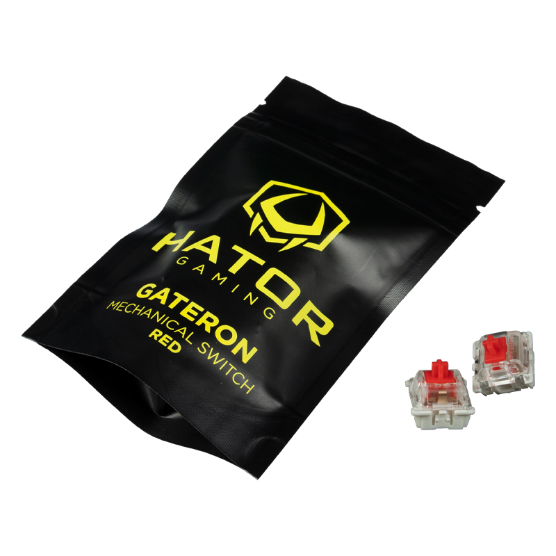 Set of mechanical switches Gateron Red (HTS-117)