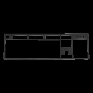 Top panel for keyboard Rockfall / Rockfall EVO + engraving (TP-610)