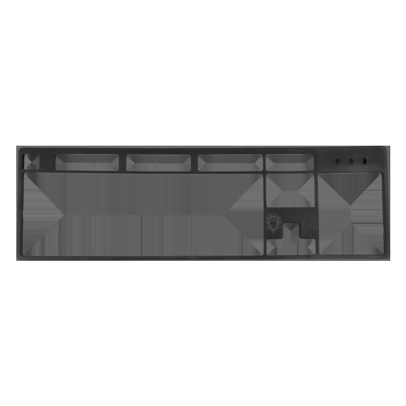 Top panel for keyboard Rockfall / Rockfall EVO + engraving (TP-610) image 3