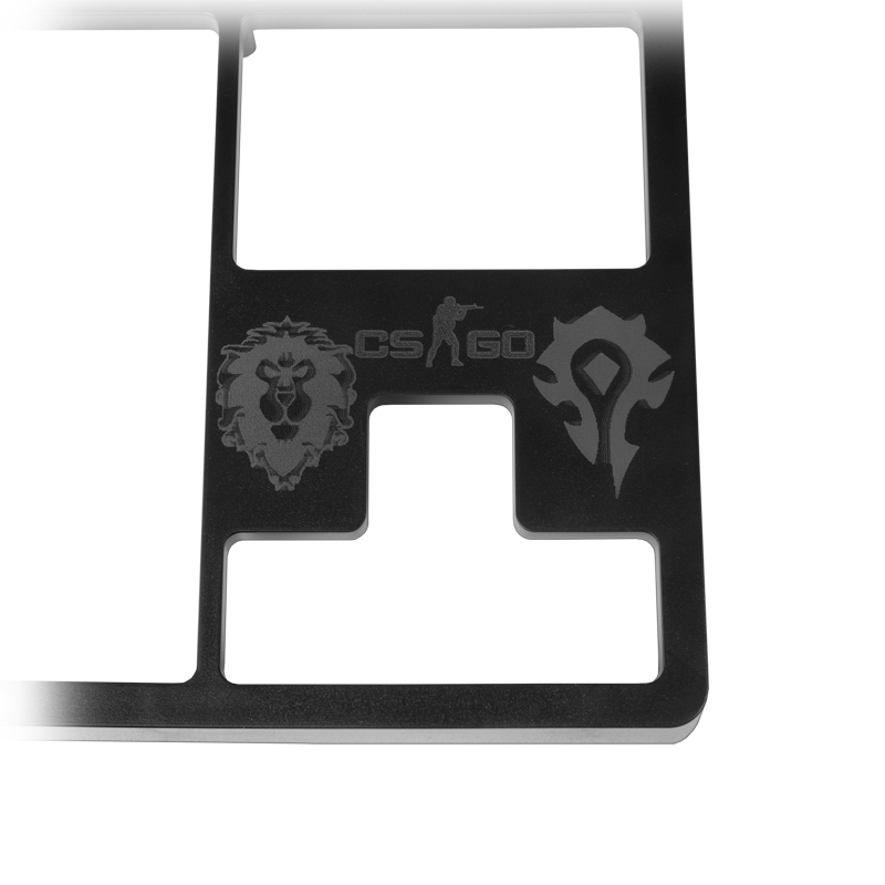 Top panel for keyboard Rockfall EVO TKL + engraving (TP-630) image 2